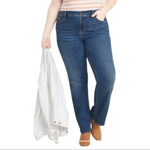 Old Navy The Flirt Mid Rise Bootcut Denim Jeans